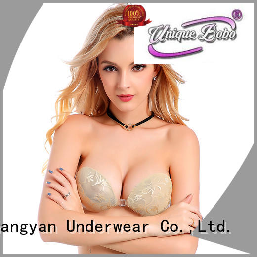 Uniquebobo invisible silicone strapless backless bra self-adhesive for backless bra