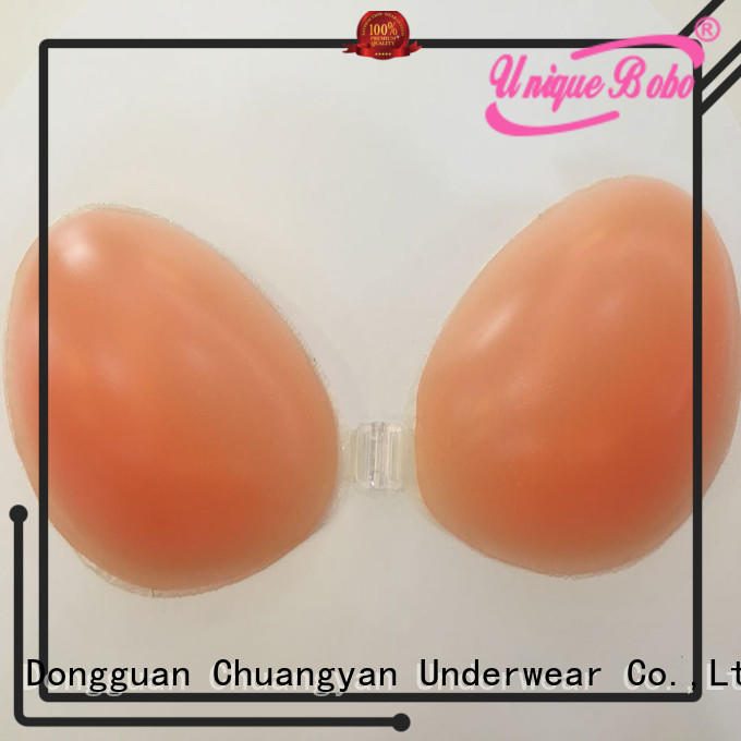 Uniquebobo lightweight silicone bra enhancers cyb002 for girl