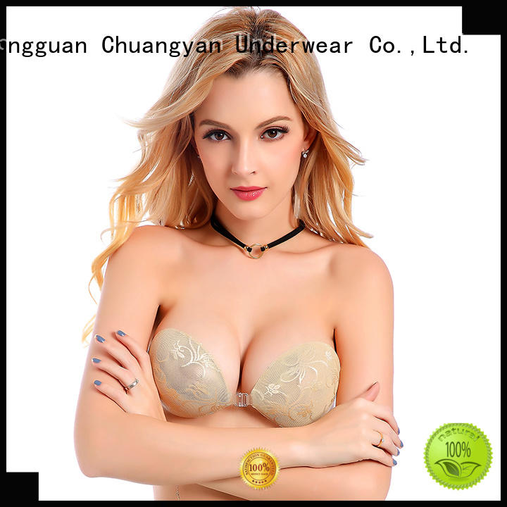 Latest silicone gel bra for business for modern bra