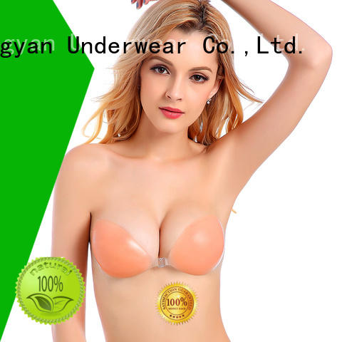 Uniquebobo ultrathin silicone gel push up bra girls for modern bra
