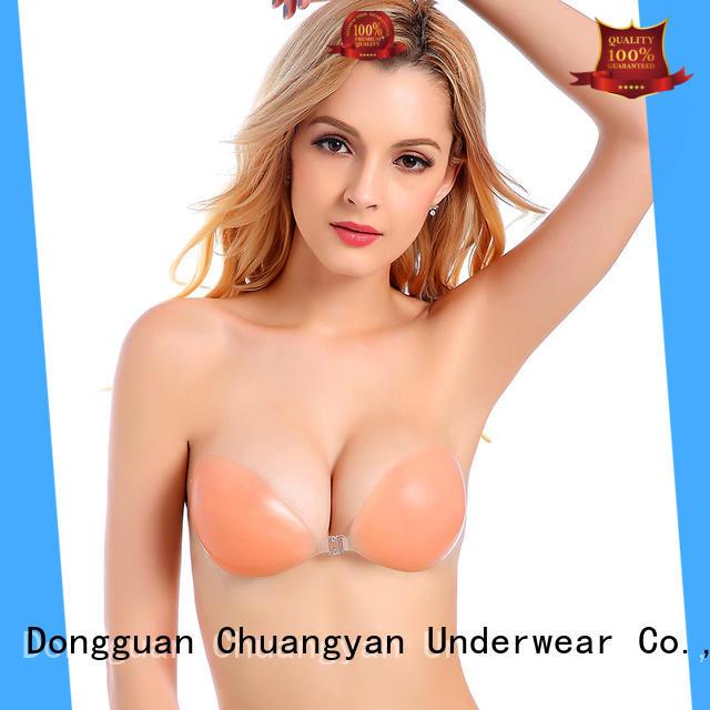 Uniquebobo lightweight silicone gel bra medical glue for girl