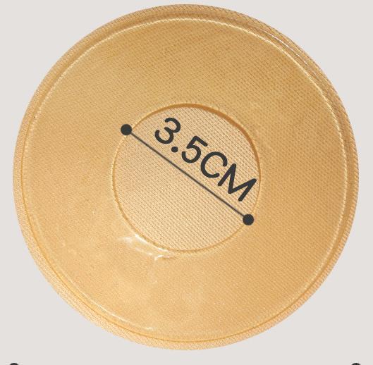 Fabric Nipple Cover 8.5cm