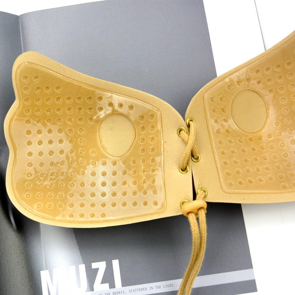 Uniquebobo-Find Gel Stick On Bra comfortable Strapless Bra-1