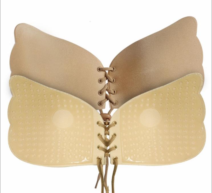 Uniquebobo-Find Gel Stick On Bra comfortable Strapless Bra-2