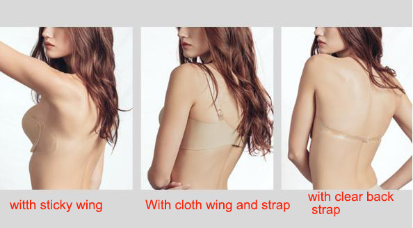 Uniquebobo-Custom Wholesale Invisible Bra Manufacturer, Where To Buy Sticky Bra |-3