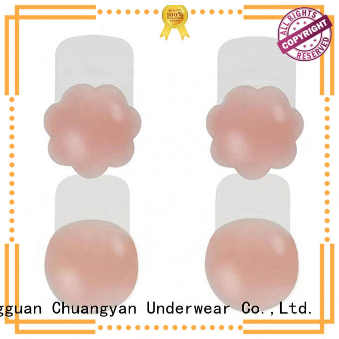 10cm Self-Adhesive Push Up Nipple Cover with Pushup TPU CYA011