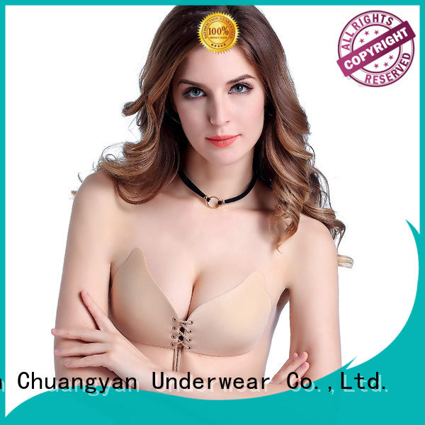 Uniquebobo durable invisible push up bra cloth for girl