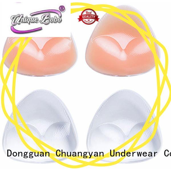Uniquebobo insert silicone bra inserts oem for invisible bra