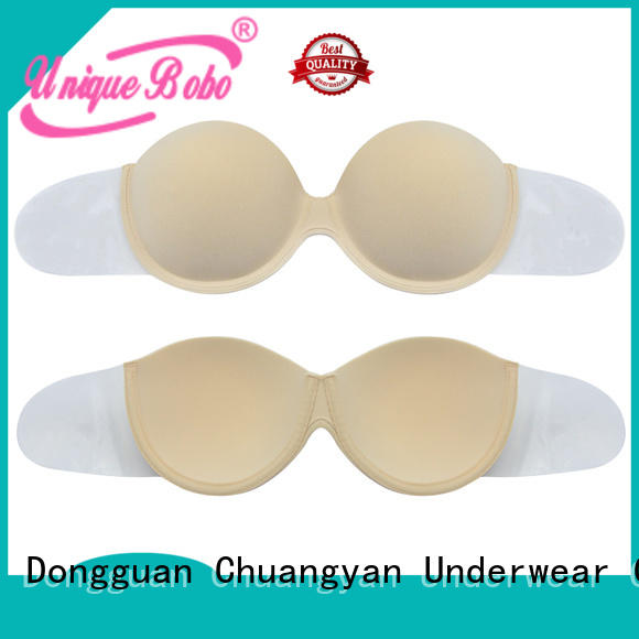 One Piece Strapless Backless Invisible Silicone Push-up Sexy Bra