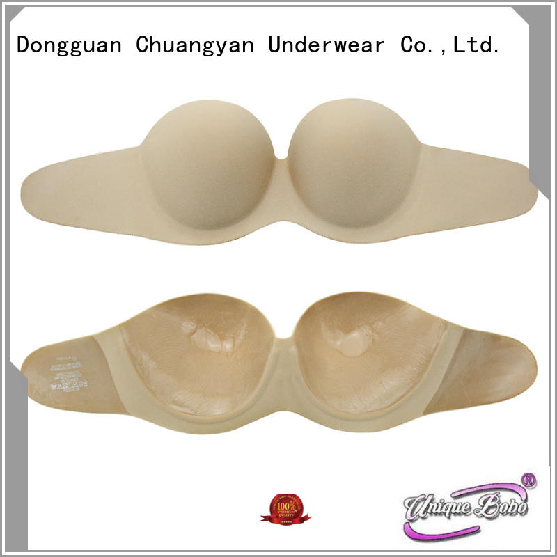 Uniquebobo New pink strapless bra for business for modern bra