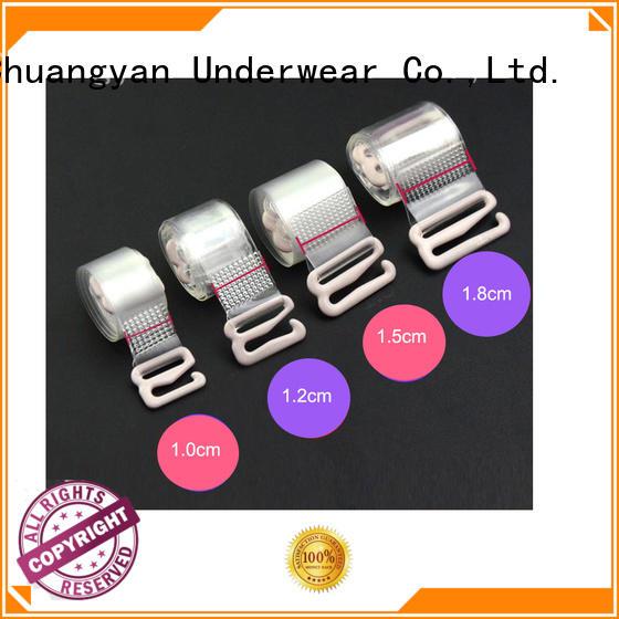 clear decorative Uniquebobo Brand silicon bra strap factory