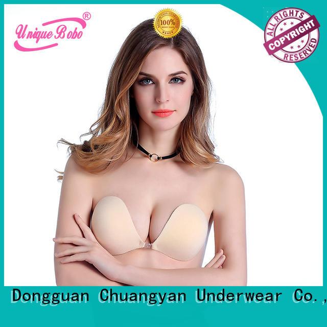 Uniquebobo stick on bra invisible for fashion bra