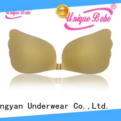 Uniquebobo women strapless bra factory for fashion bra