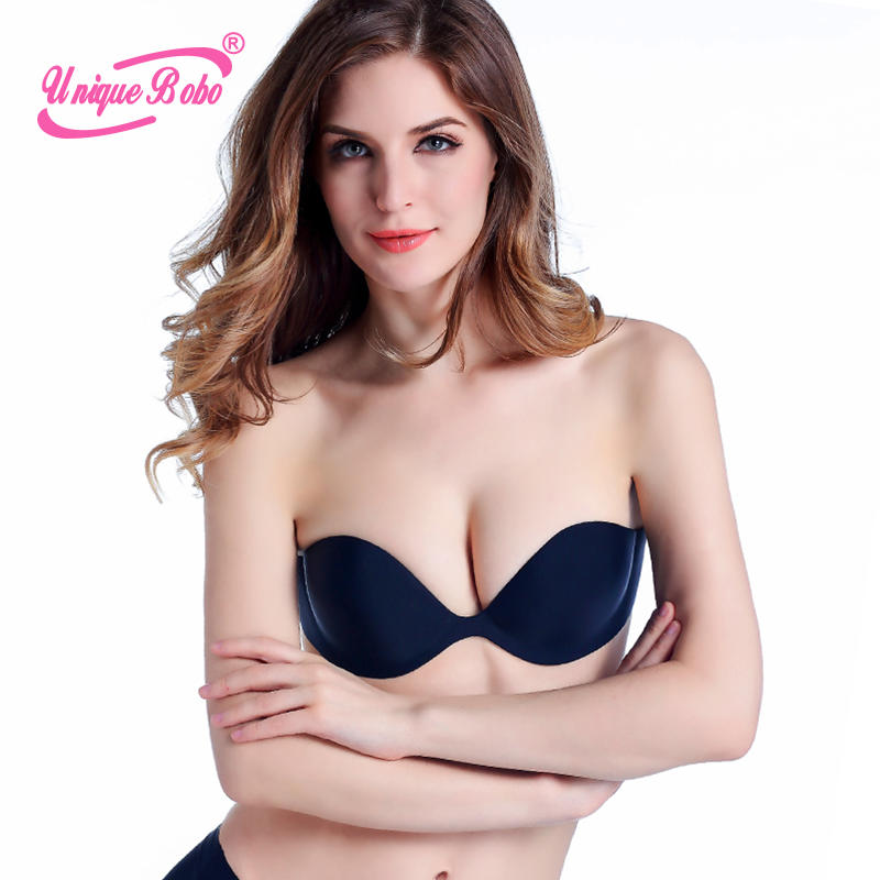 One Piece Wing Type Self-Adhesive Bra