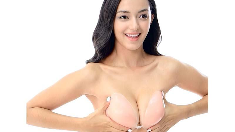 Seamless Backless Strapless Silicone Gel Bra