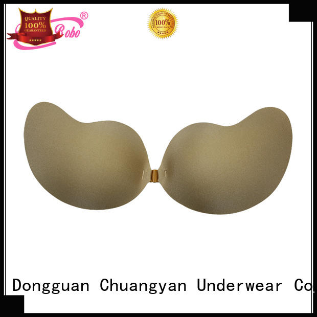 High quality Fabric Strapless Invisible Bra