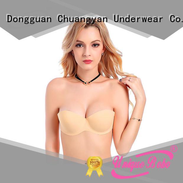 Uniquebobo backless self adhesive bra waterproof for women