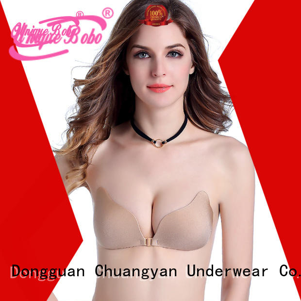 Uniquebobo High-quality strapless adhesive bra for business for invisible bra
