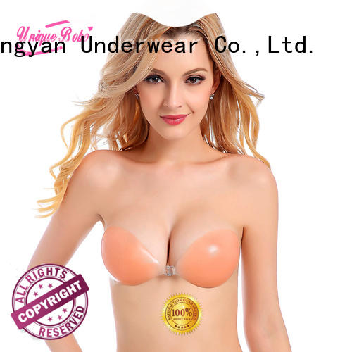 Uniquebobo silicone backless bra for business for women