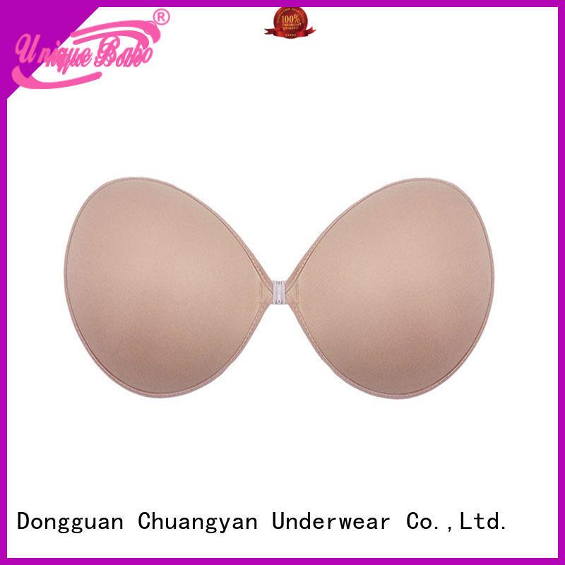 Uniquebobo cy1022 plus size strapless bra invisible for fashion bra