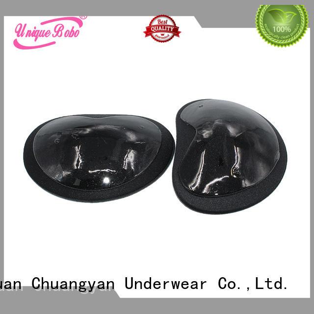 Uniquebobo durable silicone bra inserts customization for bra accessories