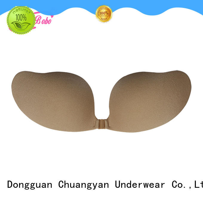 Uniquebobo cy024 comfortable strapless bra waterproof for fashion bra