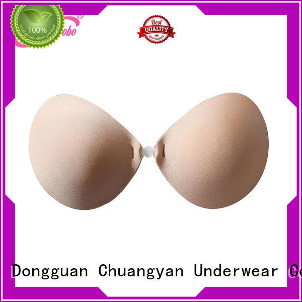 Uniquebobo invisible push up bra Suppliers for fashion bra