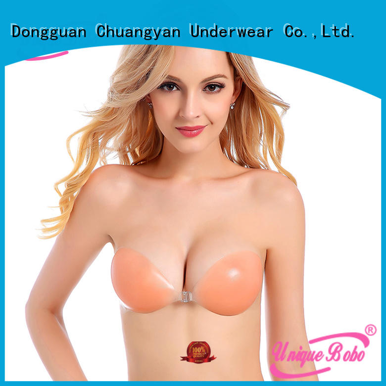 cy013 silicone backless bra medical glue for backless bra Uniquebobo