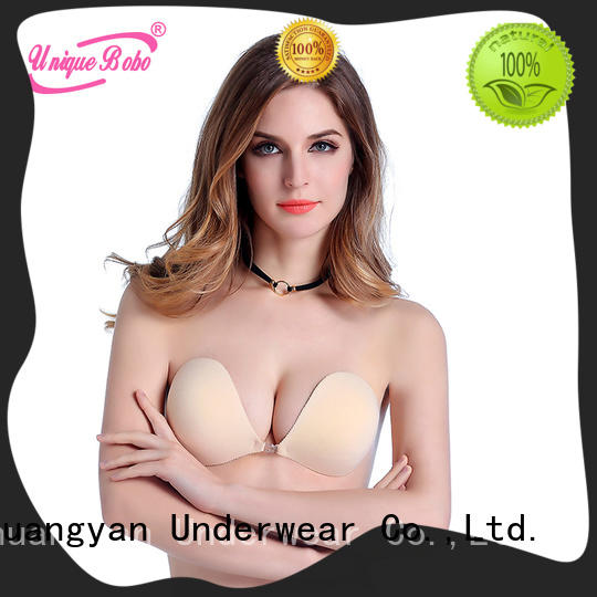 Uniquebobo stick on bra company for backless bra